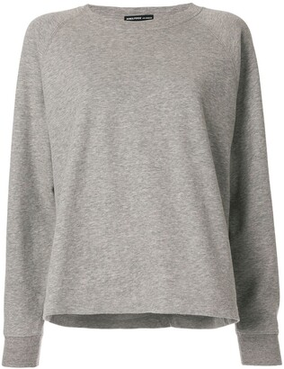 James Perse Round Neck Sweatshirt
