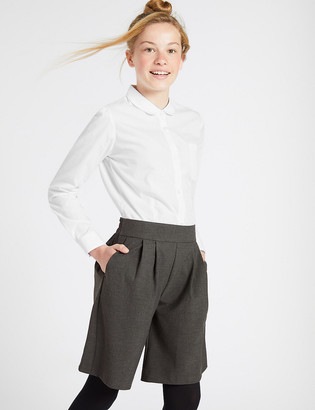 Marks and Spencer Girls Pleat Front Culottes