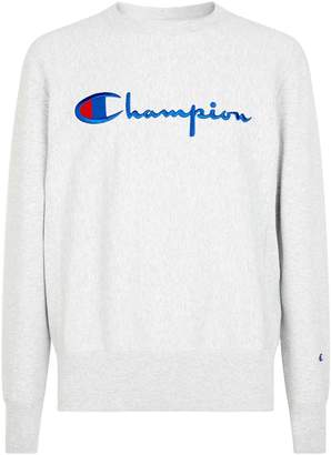 Champion Logo Embroidery Sweatshirt