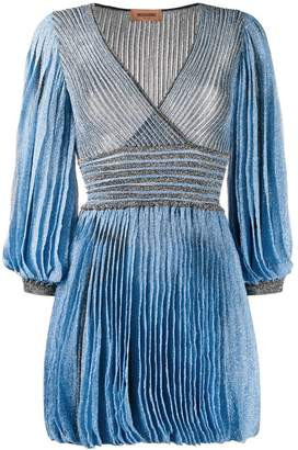 Missoni shimmer pleated dress