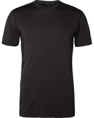 Reigning Champ Performance Mesh-Panelled Melange Jersey T-Shirt