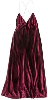 Marc Jacobs Burgundy Viscose Dresses