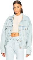Yeezy Season 5 Classic Denim Jacket in Blue.
