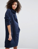 Monki High Neck Sweat Dress