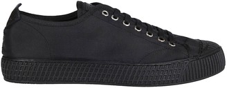 Car Shoe Black Leather Sneakers