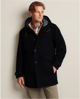 Eddie Bauer Wool-Blend MicroThermTM Down Duffle Coat