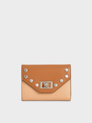 Charles & Keith Studded Small Wallet
