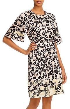 Rebecca Taylor Kaleidoscope Leopard Print Dress - 100% Exclusive
