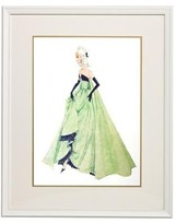 The Well Appointed House Barbie Couture Series Framed Girls Wall Art: Lisette