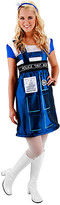 Elope Women's Costume Outfits - Doctor Who Blue TARDIS Costume - Women