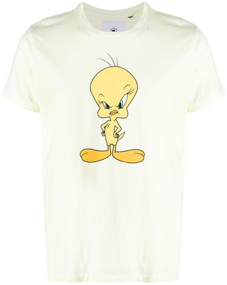 Moa Master Of Arts Tweety-print cotton T-shirt