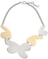Marc by Marc Jacobs Wildflower Metal Petal Statement Necklace