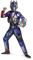 Disguise Transformers Optimus Prime Deluxe Costume (Big Boys)