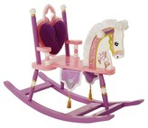 Levels of Discovery Princess Rocking Horse - Pink
