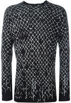 Haider Ackermann 'Montivipera' long sleeve T-shirt - men - Cotton/Cashmere - XS