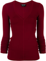Tom Ford fitted knitted sweater - women - Spandex/Elastane/Viscose - 38