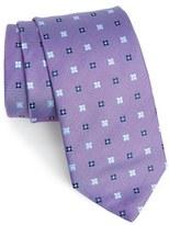 Eton Men's Geometric Silk Tie