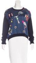 Mary Katrantzou Wool-Blend Printed Sweater
