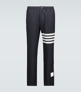Thom Browne 4-Bar wool trackpants