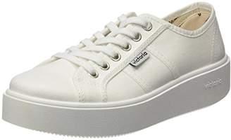 Victoria BASKET LONA, Unisex Adults' Sneakers Lona Flat, White (Whiteo), W10/M8 UK (42 EU)