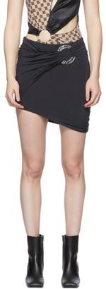 Misbhv Black Hagen Ring Skirt