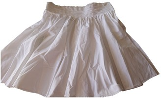 Givenchy White Cotton Skirt for Women