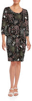 Context Floral Popover Dress