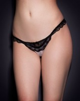 Agent Provocateur Fifi Thong Black/Pink