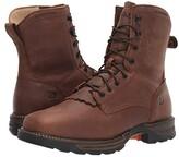 Durango 7 Maverick XP Lacer Soft Toe Waterproof (Russet) Men's Shoes
