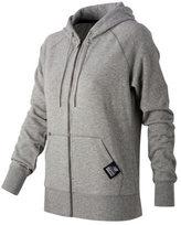 New Balance Women's WJ53506 Essentials Plus Full Zip Fleece Hoodie