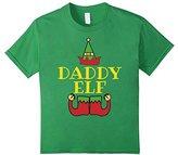 Kids Christmas Family Shirt Set Daddy Elf T-Shirt Matching Shirts 6