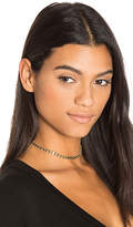 joolz by Martha Calvo Resin Choker in Metallic Gold.