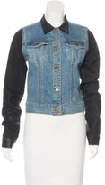 J Brand Colorblock Denim Jacket