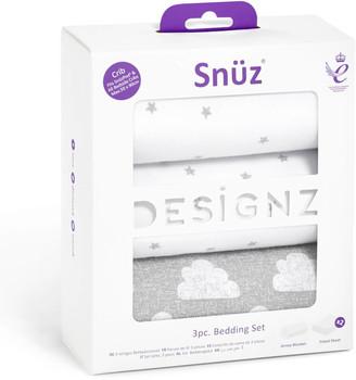 Snuz 3 Piece Bedside Crib Bedding Set