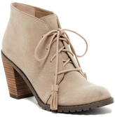 Restricted Park View Heeled Oxford Bootie