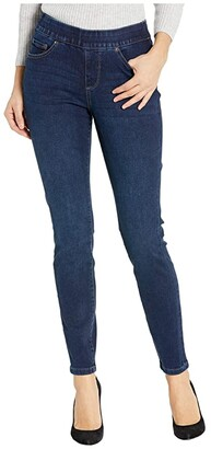 Jag Jeans Maya Skinny Pull-On Jeans in Deluxe Denim (Weathered Grey) Women's Jeans