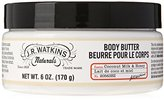 JR Watkins J. R. Watkins Body Butter - Coconut Milk & Honey - 6 oz