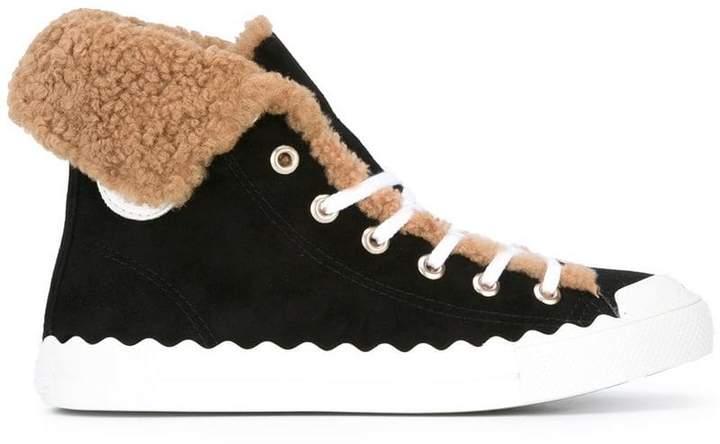 Chloé 'Kyle' hi-top sneakers