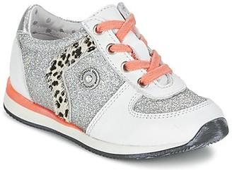 Catimini CATALPA girls's Shoes (Trainers) in Silver