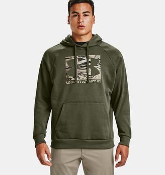 Under Armour Men's UA Rival Fleece Camo Logo Hoodie