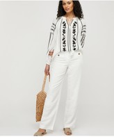 Monsoon Sienna EmbroideredTop - Ivory