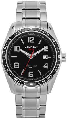 Armitron All Sport Mens Silver Tone Stainless Steel Bracelet Watch-20/5252bksv