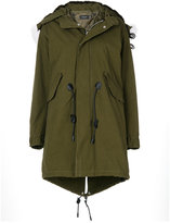 Coach hooded parka