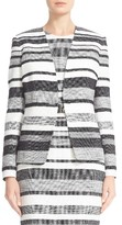 Max Mara Women's Tommy Stripe Cotton & Linen Blend Jacket