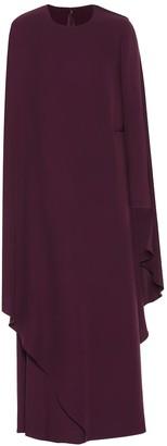 Valentino Silk-crApe wrap gown