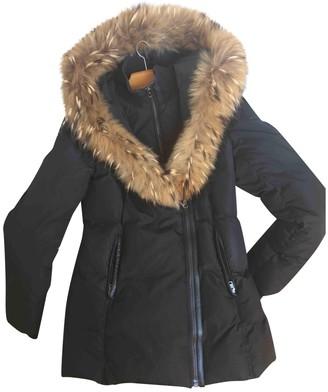 Mackage Black Fur Coat for Women