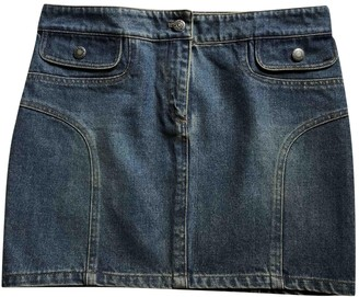 Michael Kors Blue Denim - Jeans Skirt for Women