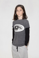 Nununu Unisex Grey Eye Shirt