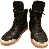 Balmain Leather high trainers