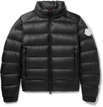 Moncler Soreiller Slim-Fit Logo-Appliqued Quilted Shell Down Jacket